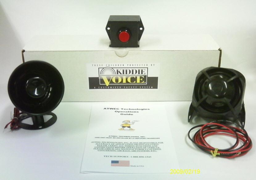 Kiddie Voice Child Safety Alarm